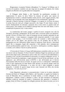 Introduzione. Margherita Salvadori Gruppo Amici di ELinor-2