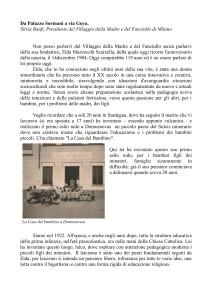 Silvia Banfi. Da Palazzo Sormani a Via Goya-1